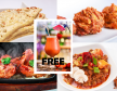 £13 Eat In Special - 2 Course Meal + Free Cocktail (Mocktail)