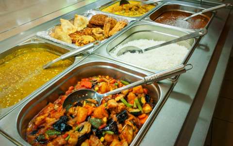 Khans lunchtime buffet offer
